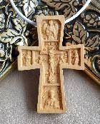 Крестик Распятие, Ангел, Николай